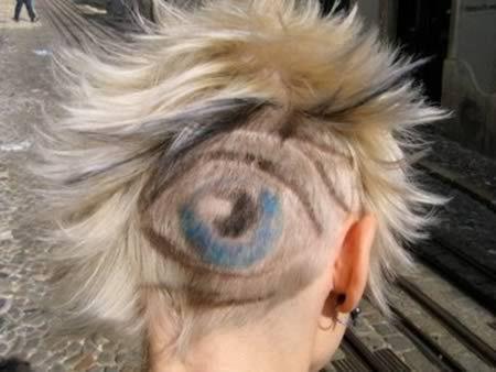 よくわからない髪型110