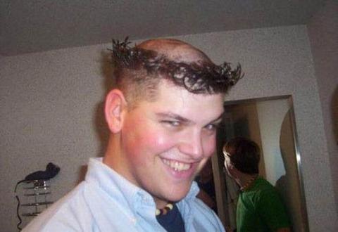 よくわからない髪型64