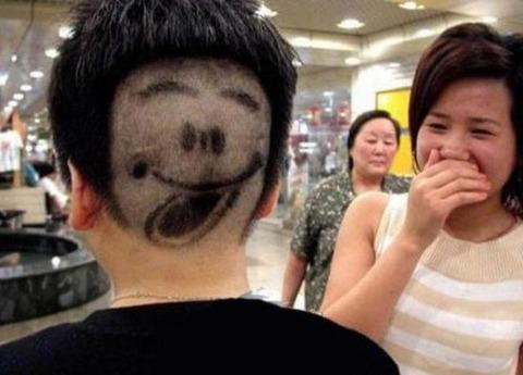 よくわからない髪型103