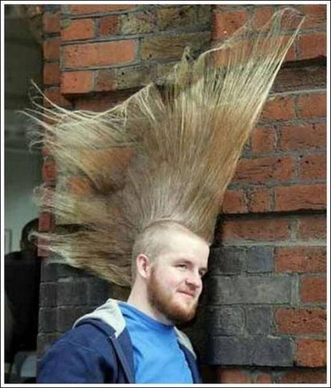 よくわからない髪型102