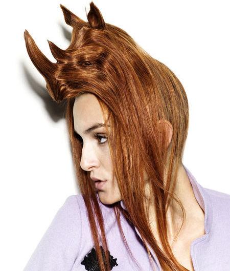 よくわからない髪型5