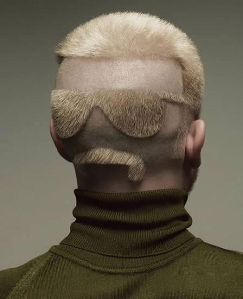 よくわからない髪型95