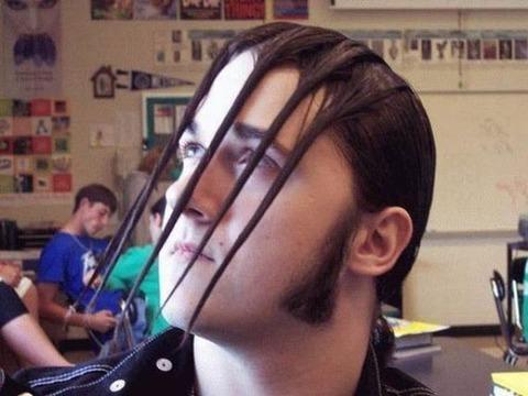 よくわからない髪型60