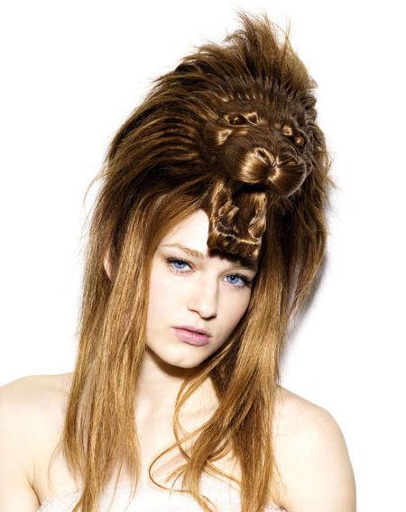 よくわからない髪型7