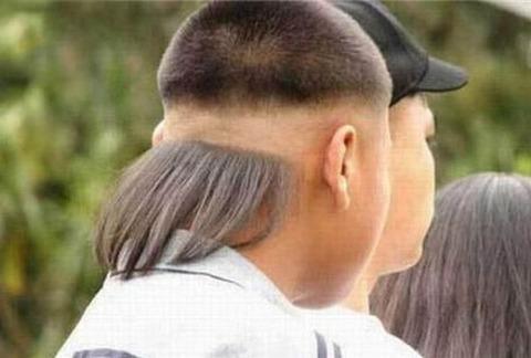 よくわからない髪型61