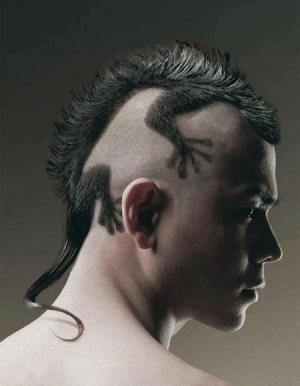 よくわからない髪型129