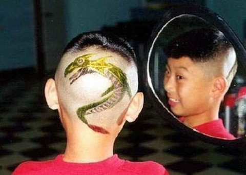 よくわからない髪型98