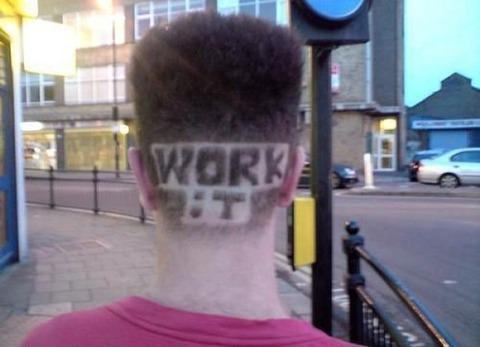 よくわからない髪型83