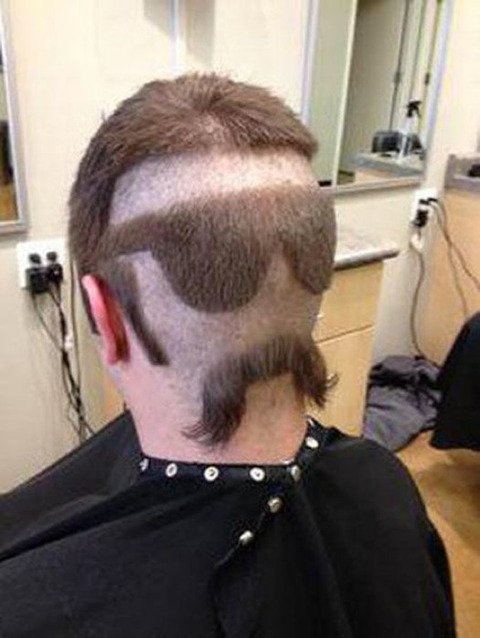 よくわからない髪型39