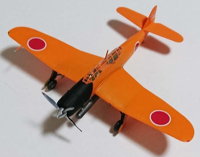 この形なんかいい…【レビュー】ウィングキットコレクションVS5 艦上攻撃機 流星11型 海軍航空技術廠 増加試作機コメントコメントする