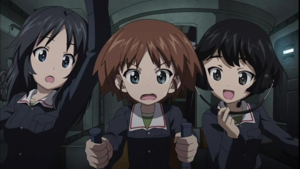 OVAガールズ&パンツァー これが本当のアンツィオ戦です!019