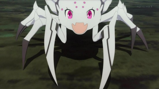 蜘蛛ですが、なにか? 13話場面カット001