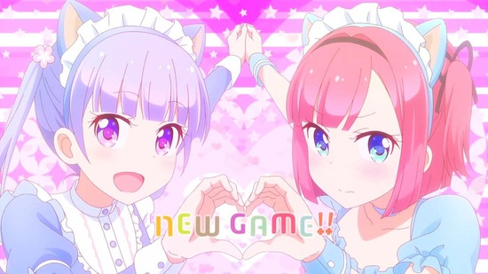 NEW GAME!! 8話番組カット_033