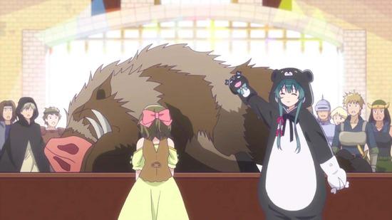 くまクマ熊ベアー 3話場面カット007