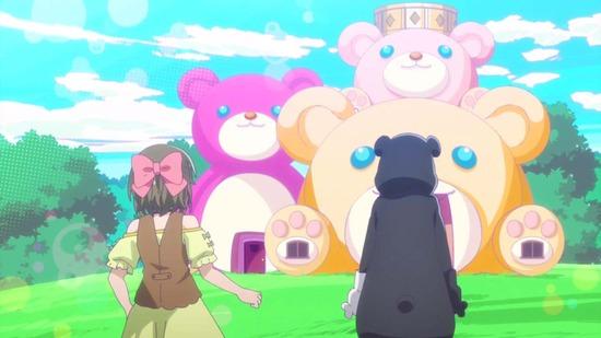 くまクマ熊ベアー 3話場面カット041
