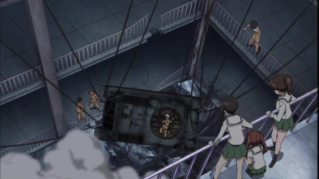 OVAガールズ&パンツァー これが本当のアンツィオ戦です!016