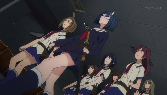 武装少女マキャヴェリズム 1話番組カット012