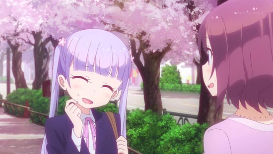 NEW GAME!! 1話番組カット001