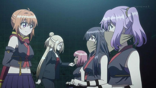 RELEASE THE SPYCE 11話場面カット001