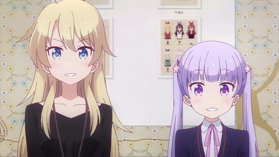 NEW GAME!! 2話番組カット049
