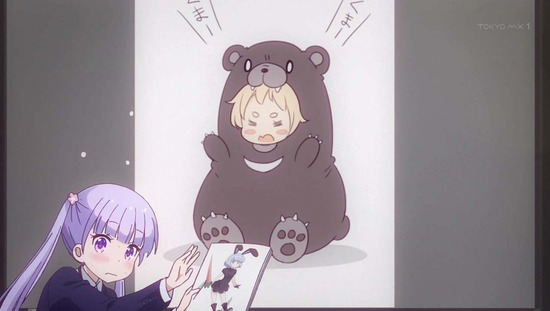 NEW GAME!! 2話番組カット030