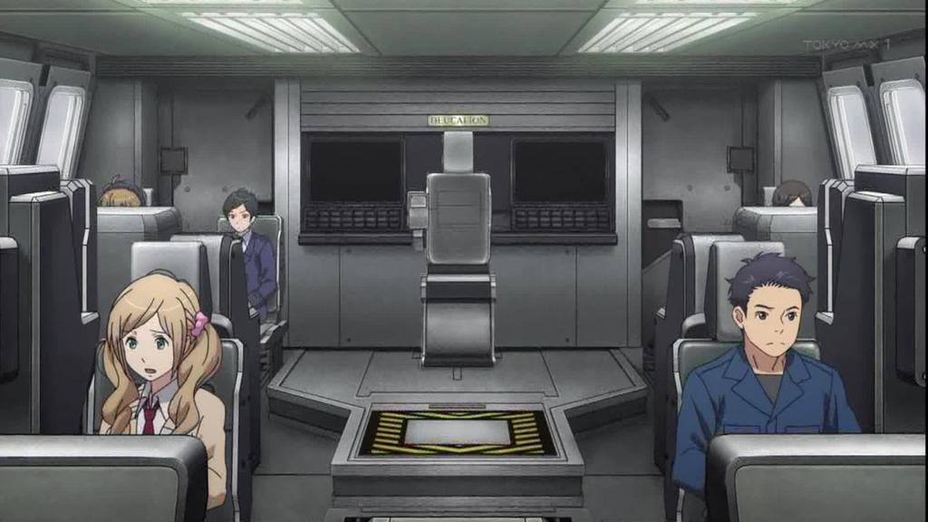 アルドノア・ゼロ 9話姫心肺停止033