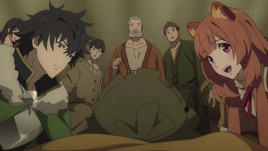 盾の勇者の成り上がり 7話番組カット004