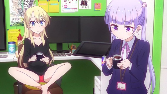 NEW GAME!! 1話番組カット010
