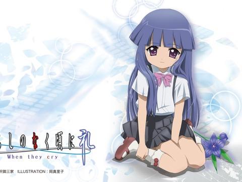 higurashi-no-naku-koro-ni-furude-rika-girl-flower-honey-pose