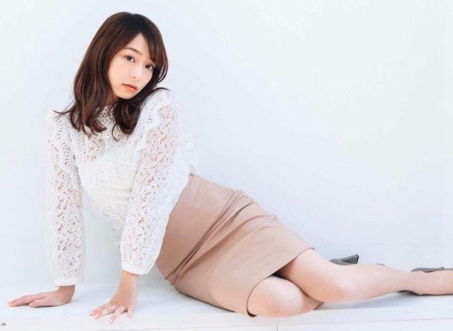【画像】宇垣美里アナ、谷間がエッチで可愛すぎる!