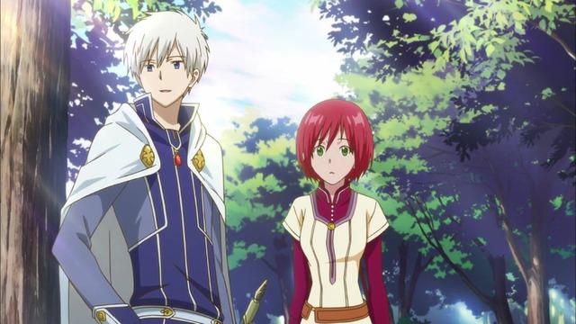 赤髪の白雪姫 第11話 21