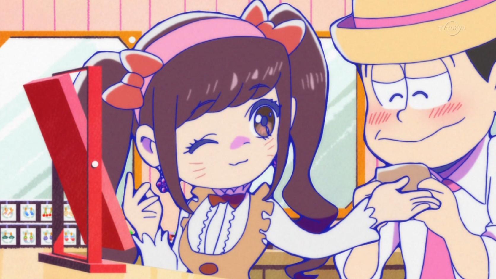 高画質 おそ松さん 10話 イヤミチビ太のレンタル彼女 感想 時勢を