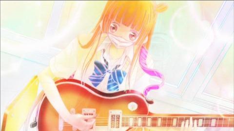 覆面系ノイズ 第6話 【感想】 あんなとこでギター弾いて錆びたりしないのかな