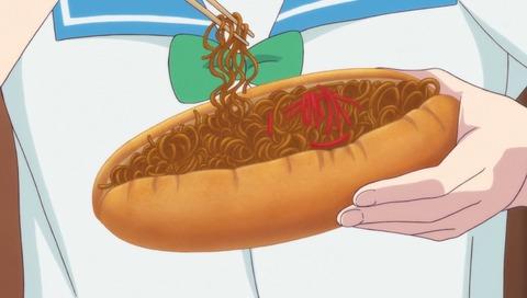 ツインエンジェルBREAK 第6話 【感想】 焼きそばパンの斬新な食べ方にびびった