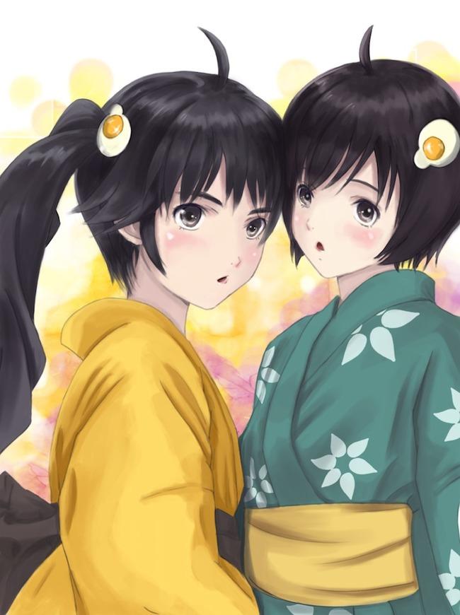 karen_and_tsukihi__araragi_by_zakurazeroart-d4m3bja