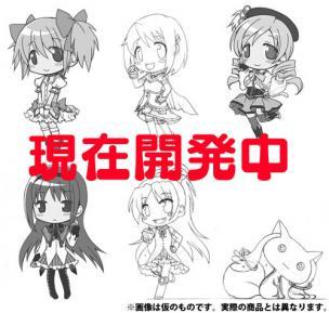 魔法少女まどか☆マギカ クリーナー付フィギュアストラップ 6種 BOX