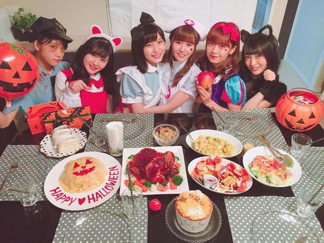 【悲報】AKB48大和田南那「いちごちゃんずでハロウィンパーティーしてたの…