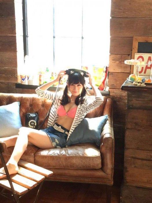 [画像] NMB48矢倉楓子「ENTAME 2015年10月号」オフショット