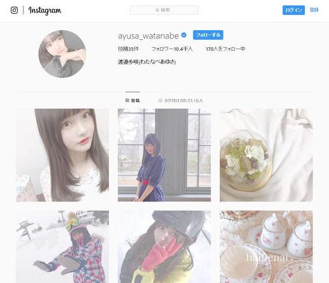 【NGT48】渡邉歩咲ちゃん、他メンバーが映ってる投稿を大量削除