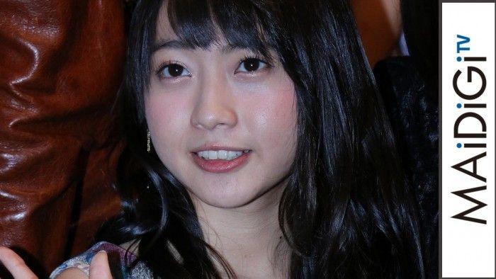 """[動画ニュース] AKB48木﨑ゆりあ、ファンに「嫉妬しないで」 映画で""""ニャンニャン""""披露(MAiDiGiTV)"""