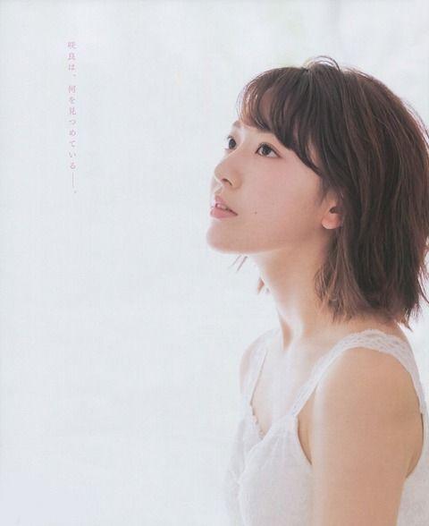 【朗報】さくらたんの横顔、なんだかんだ言って美しすぎる【HKT48】