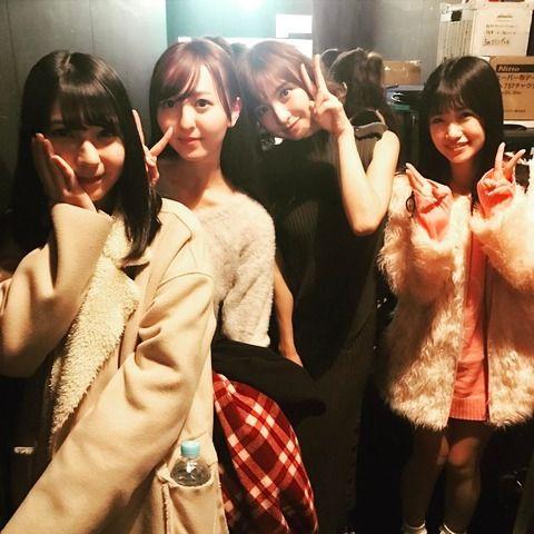 【画像アリ】篠田麻里子「博多のみーおん もりぽ なつ観に来てくれてありがとう博多4人組だね」【】