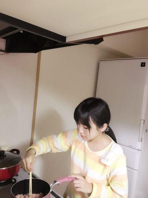 【画像アリ】奈子ちゃんが作った料理が凄く美味しそう!【HKT48】