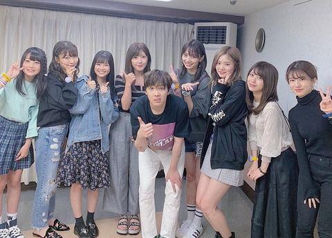篠崎彩奈「今日はproduce48のホンギ先生のライブを観に行きました」←メンバーたくさんwwww