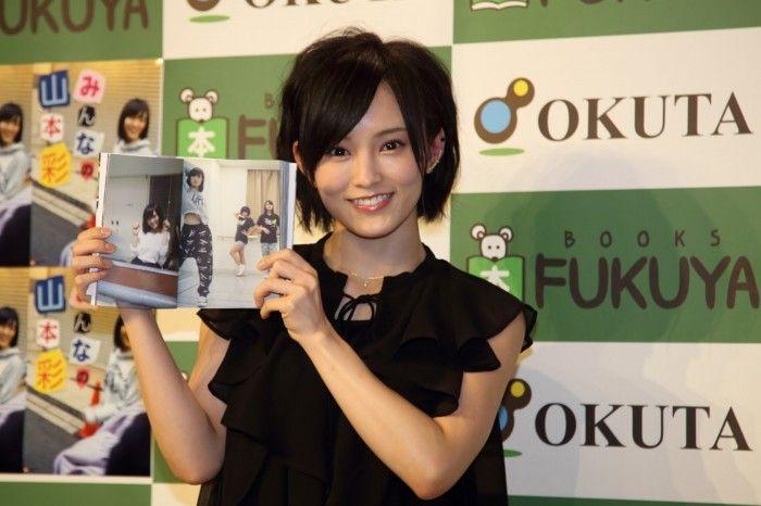 [動画ニュース] NMB48山本彩「あさが来た」効果で報道陣殺到 東京のイベントに「びっくりぽん!」(J-CAST)