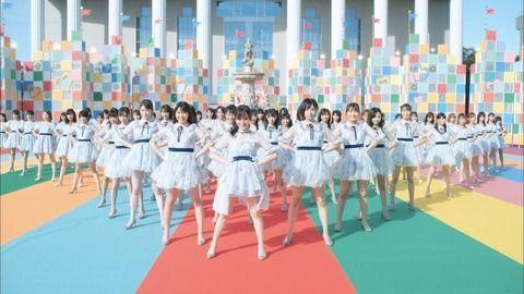 NMB48の新曲MV再生回数が、1日半でSKE48の再生回数を超えるwww
