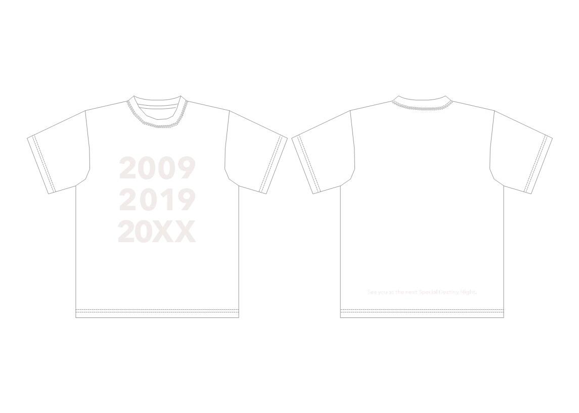 「SDN48結成10年記念Tシャツ」販売のご案内