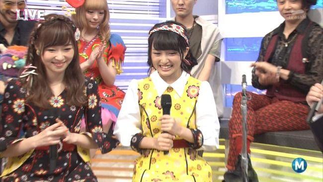 【朗報】AKB48センターの向井地みーおん見つかる【向井地美音】【Mステ】【ミュージックステーション】