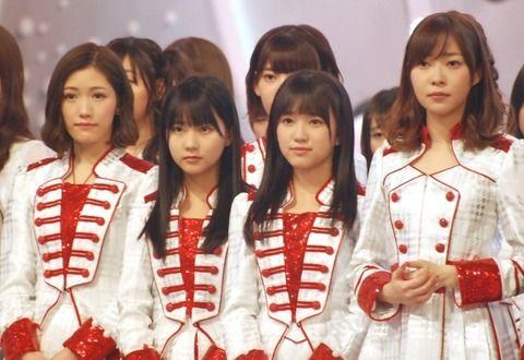【朗報】矢吹奈子・田中美久がNHK紅白リハで良ポジ【HKT48】