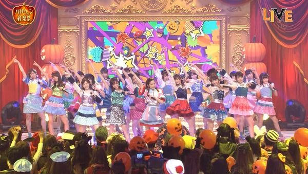 【TBSハロウィン音楽祭2016】「AKB48が「ハイテンション」を披露!」の感想まとめ(キャプチャ画像あり)